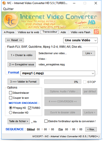 total video converter 3gp sur 01net